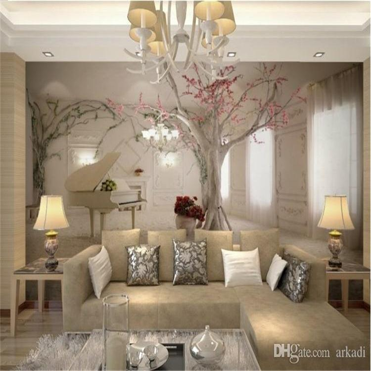 5d Custom Any Size 3d Wall Mural Wallpapers For Living Room Modern Fashion Beautiful New Photo Murals Tree Wallpaper Arkadi Wallpapers Hd Wallpapers Hd Background From Arkadi 15 73 Dhgate Com