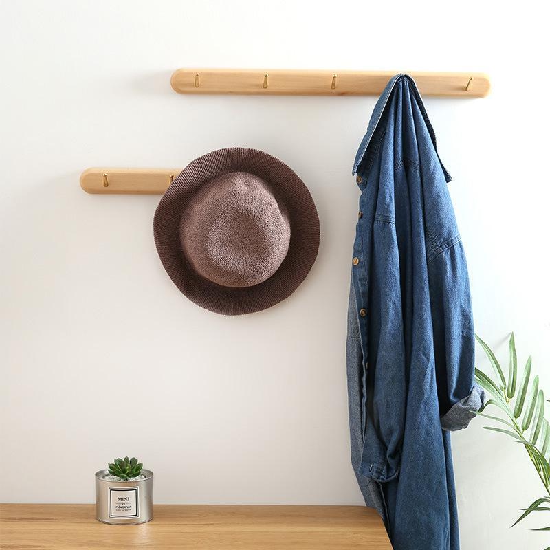 2021 wood coat rack wall mounted