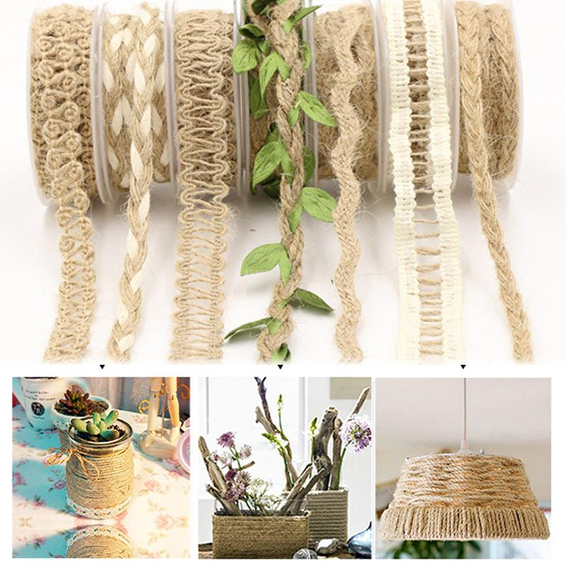 Hessian Jute Twine Rope Natural Party Decoration Party Scrapbooking Wedding Craft Burlap Ribbon Vintage Diy 2cm 2m Chair Cover Chair Sashes From Highqualit07 30 28 Dhgate Com