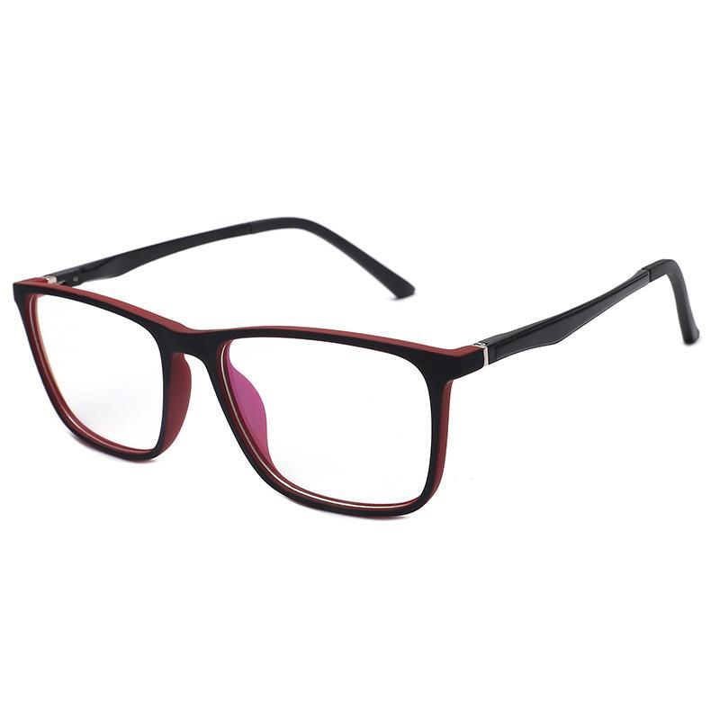 Square Oversized Reading Glasses Frame Men Ultra Light ...