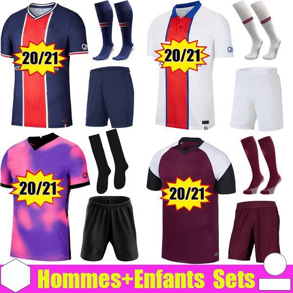 grosshandel psg soccer jersey fussball trikots 2021 2020 paris saint germain trikot neymar jr mbappe trikot survetement fussball kit fussball shirt frauen