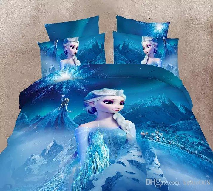 new arrive frozen 3d bedding set frozen