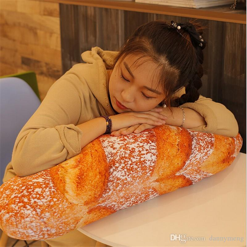 cheap 60cm large soft simulated bread