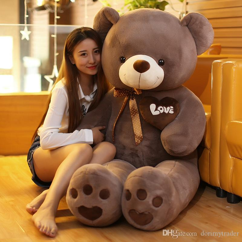 Her endearingly lazy roommate who happens to be a fuzzy toy bear. Dorimytrader Pop Lovely Cartoon Love Heart Bear Plush Toy Stuffed Soft Anime Bear Doll Pillow Gift For Girls Dy61875 Age Range Best Quality And Cheapest Price Dhgate Com
