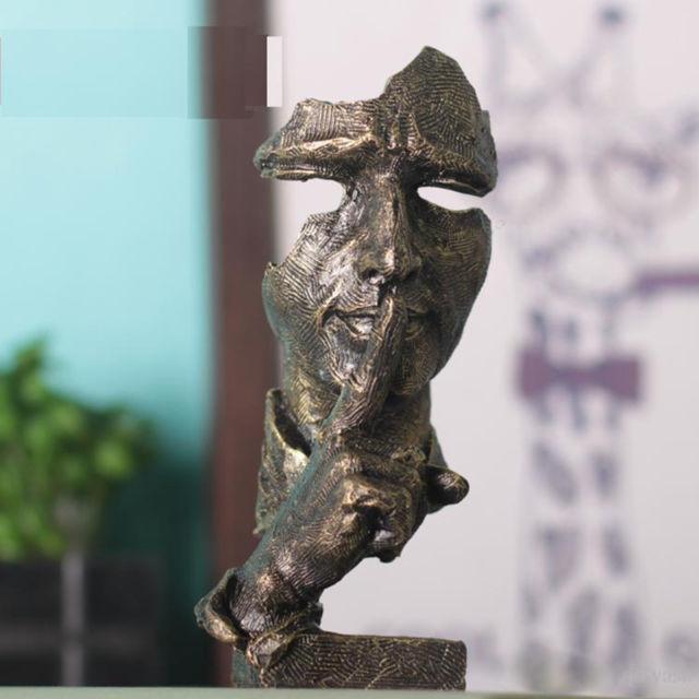 grosshandel 7 zoll gesicht skulptur statue abstrakte moderne art deco von yaya198 16 86 auf de dhgate com dhgate