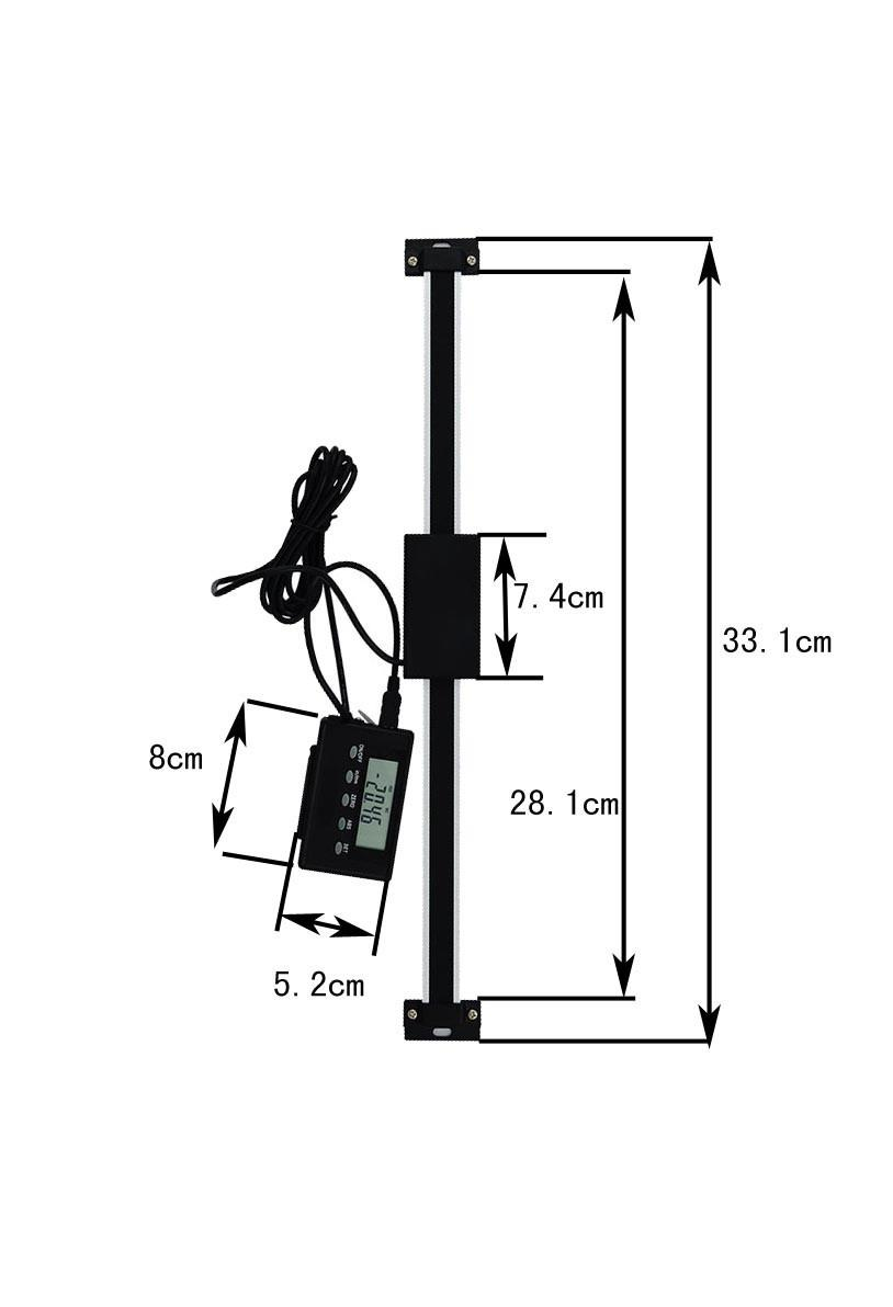 2020 200mm High Quality Digital Linear Scale With Remote