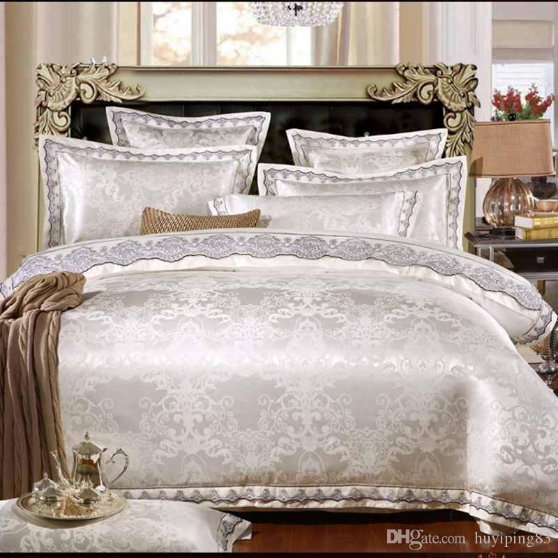white jacquard silk cotton luxury