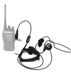 new 2 pin mic finger ptt headset for kenwood baofeng uv 5r h777 888s hyt puxing walkie talkie cb radio [ 1000 x 1000 Pixel ]