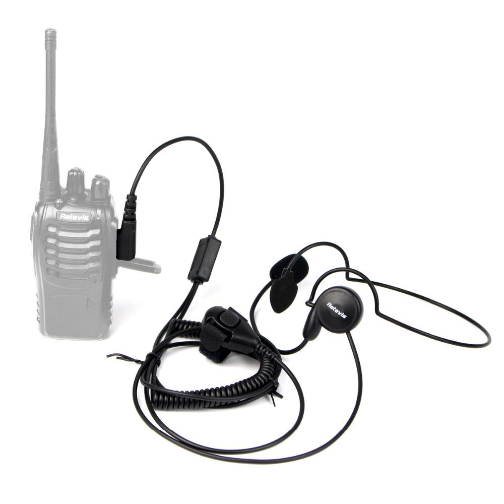 hight resolution of new 2 pin mic finger ptt headset for kenwood baofeng uv 5r h777 888s hyt puxing walkie talkie cb radio