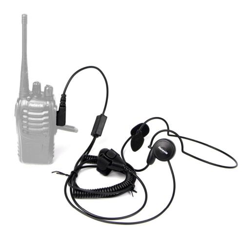 small resolution of new 2 pin mic finger ptt headset for kenwood baofeng uv 5r h777 888s hyt puxing walkie talkie cb radio