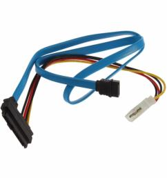 wholesale drop shipping connector adapter 7 pin sata serial ata to sas 29 pin 4 pin cable male [ 1000 x 1000 Pixel ]