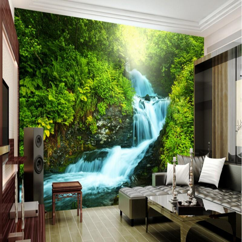 wholesale custom nature wallpaper