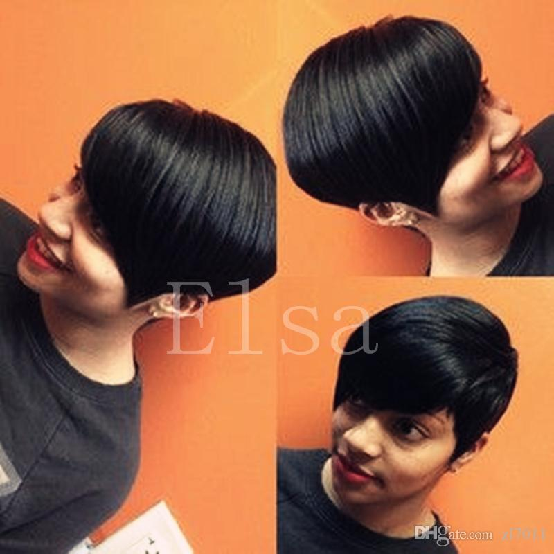 African Hair Cut Style For Black Women Celebrity Pixie Cut Short