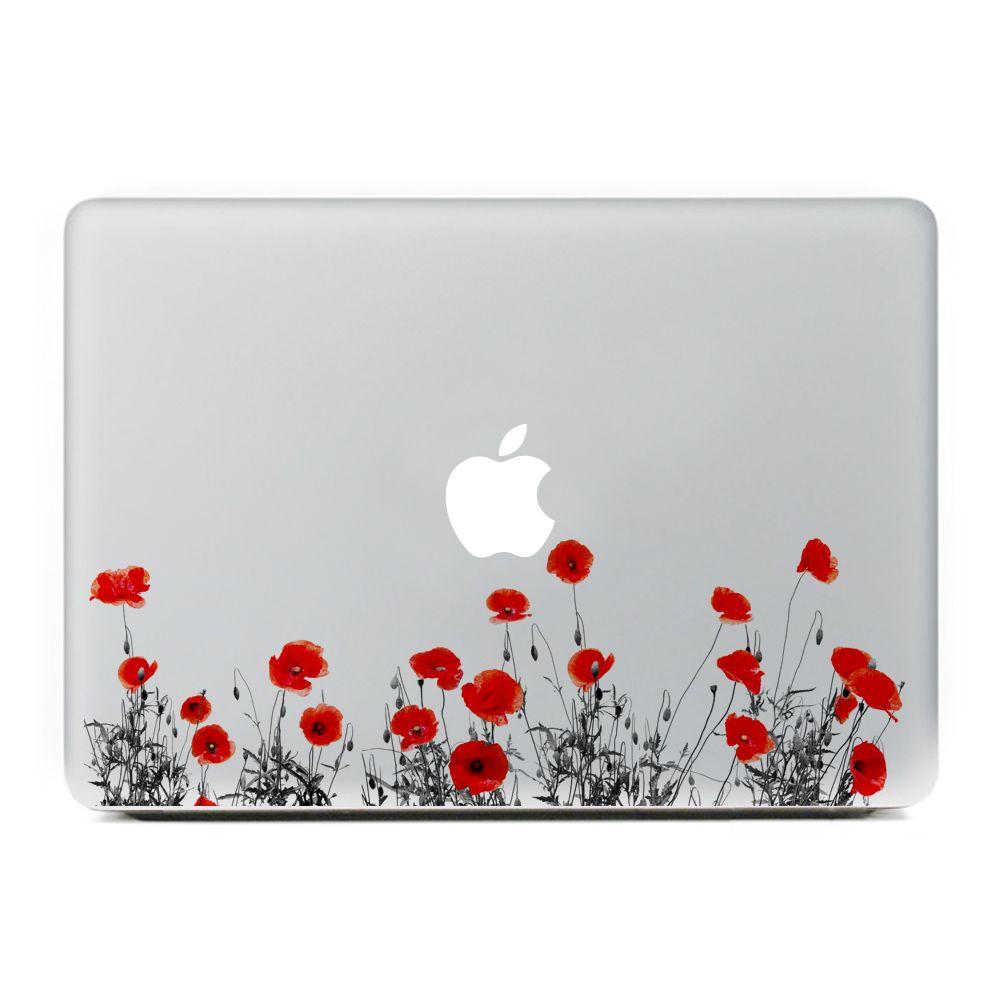 acheter autocollants pour auto en autocollant en vinyle a la belle fleur pour apple macbook air pro retina 11 13 15 pouces en plastique pour
