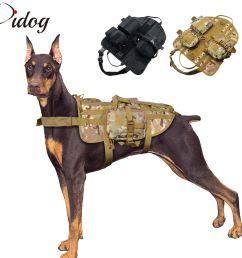 compre tactical dog harness militar arn s para mascotas k9 perros trainning caminar senderismo chaleco de caza para perro mediano grande a 44 63 del  [ 1000 x 1000 Pixel ]