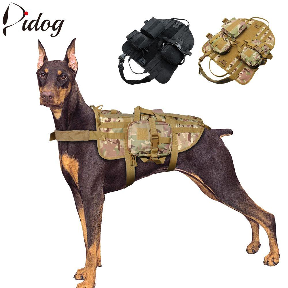 hight resolution of compre tactical dog harness militar arn s para mascotas k9 perros trainning caminar senderismo chaleco de caza para perro mediano grande a 44 63 del