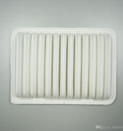 air filter for toyota corolla 1 6l 1 8l 2010 vios 1 3l 1 6l yaris 2011 verso 1 6 1 8 2 0 oem 17801 0t020 [ 1000 x 1000 Pixel ]