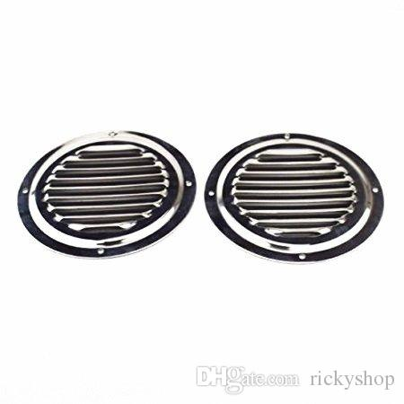 Auto Parts & Accessories 2PCS Stainless Steel 5 Round