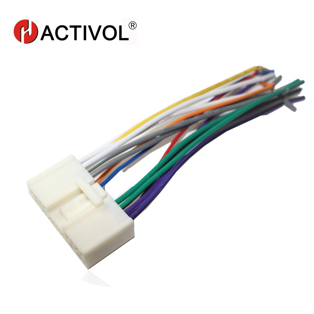 hight resolution of car radio stereo male iso plug power adapter wiring harness special for 2 3 5 6 iso harness power cable gps
