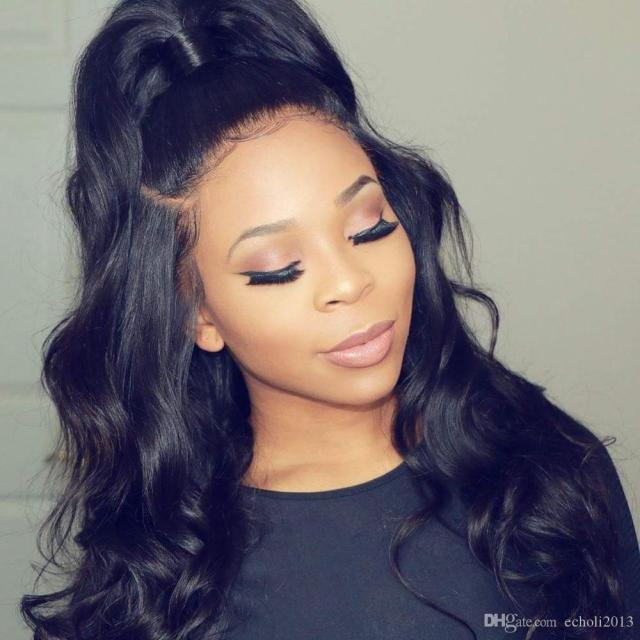 natural brazilian body wave ponytail hairpiece 160g wraps wavy curly women ponytail hair extension drawstring with two combs hair extensions ponytails