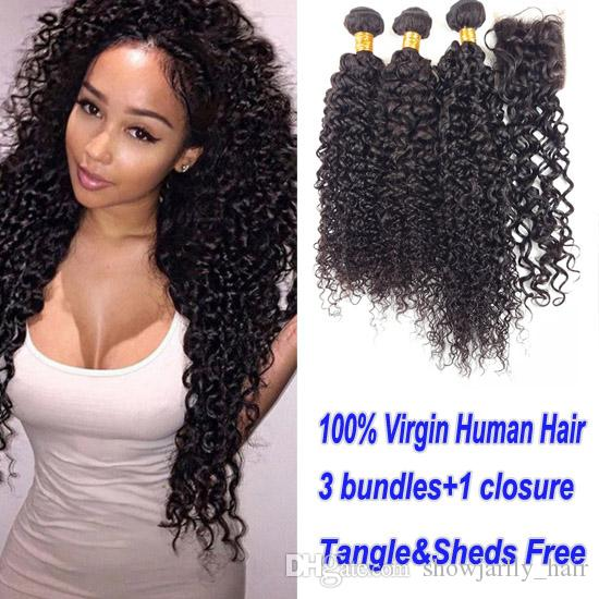 2018 Factory Direct Supply Natural Black Made Weave Malaysian