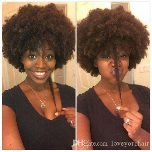 Fashion The Natural Hairstyle Soft Brazilian Hair African American