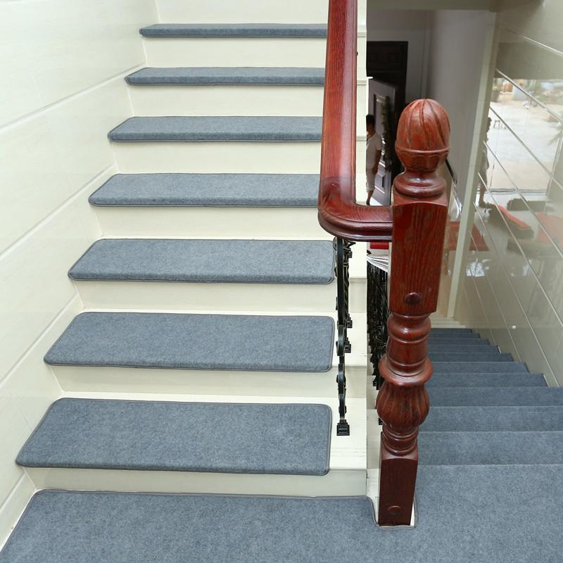 Non Slip Tread Carpet Mats Step Staircase Mat Area Rugs Stairs   Stair Carpet Installation Cost   Flooring   Stair Case   Square Yard   Average Cost   Sq Ft
