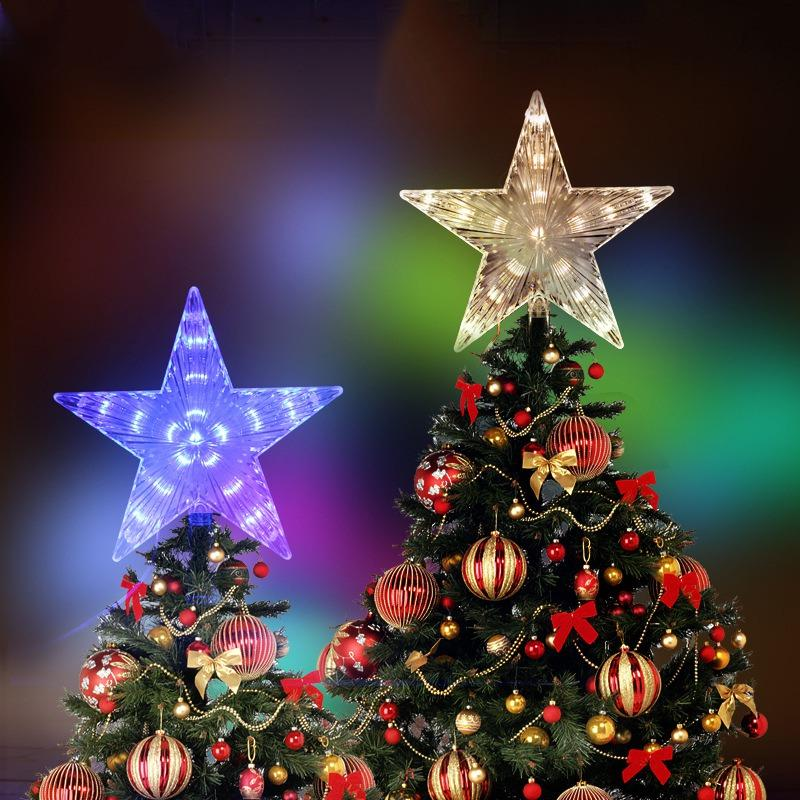 Led Christmas Star Twinkle Lights Decoration Light Up Christmas Tree Topper Star Xmas Tree Ornaments Party Home Decorations Exclusive Christmas Decorations Exterior Christmas Decorations From Gyposphila 28 38 Dhgate Com