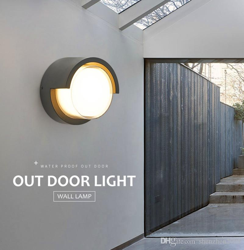2020 Outdoor Led Wall Lights Ip67 Villa Courtyard Gate Exterior | Staircase Exterior Wall Design | Commercial | Entrance Ceiling | Interior | Modern | Boundary Wall