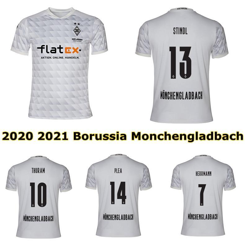 grosshandel 2020 2021 borussia monchengladbach fussball jersey 20 21 borussia gladbach plea stindl zakaria thuram football shirt von wenxuan 0920
