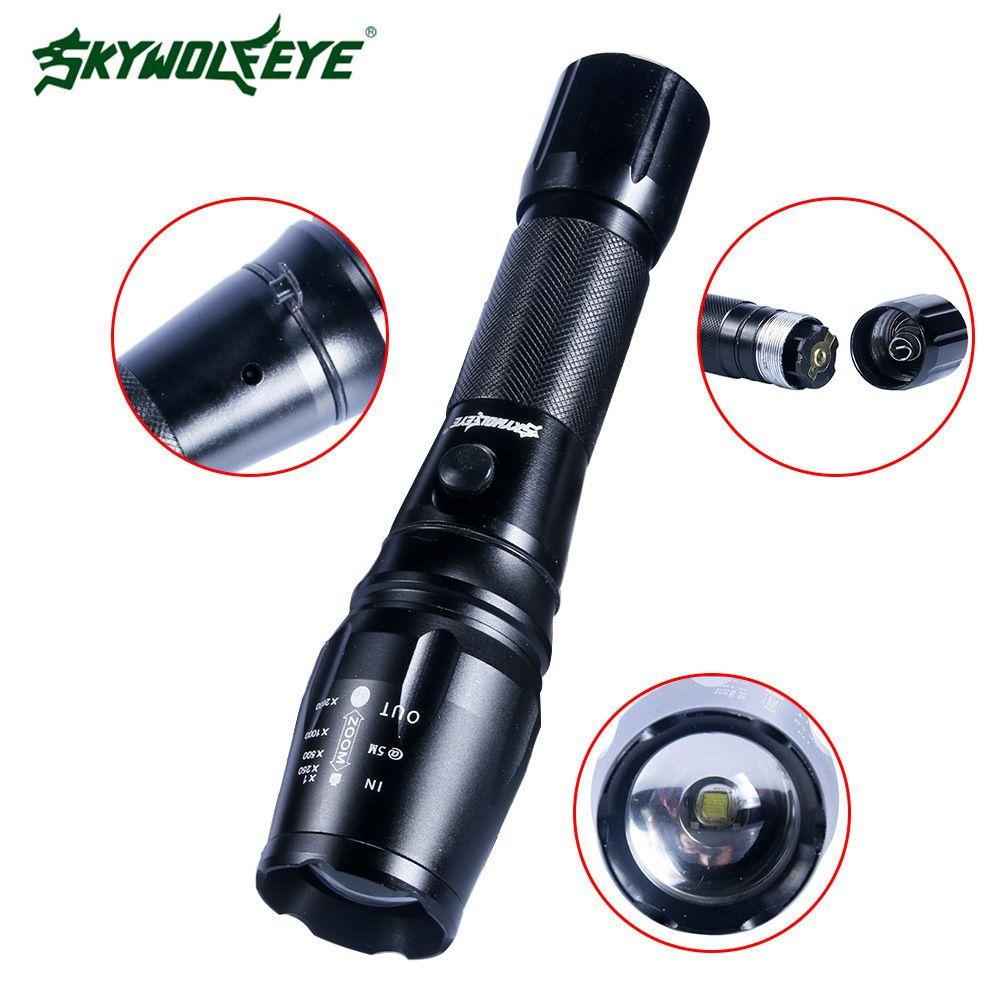 2020 Skywolfeye Flexible Focusing T6 Long Shots Light Aluminium Alloy Led Flashlight Customized Flashlight From Samanthaadam1802. $12.70 | DHgate.Com