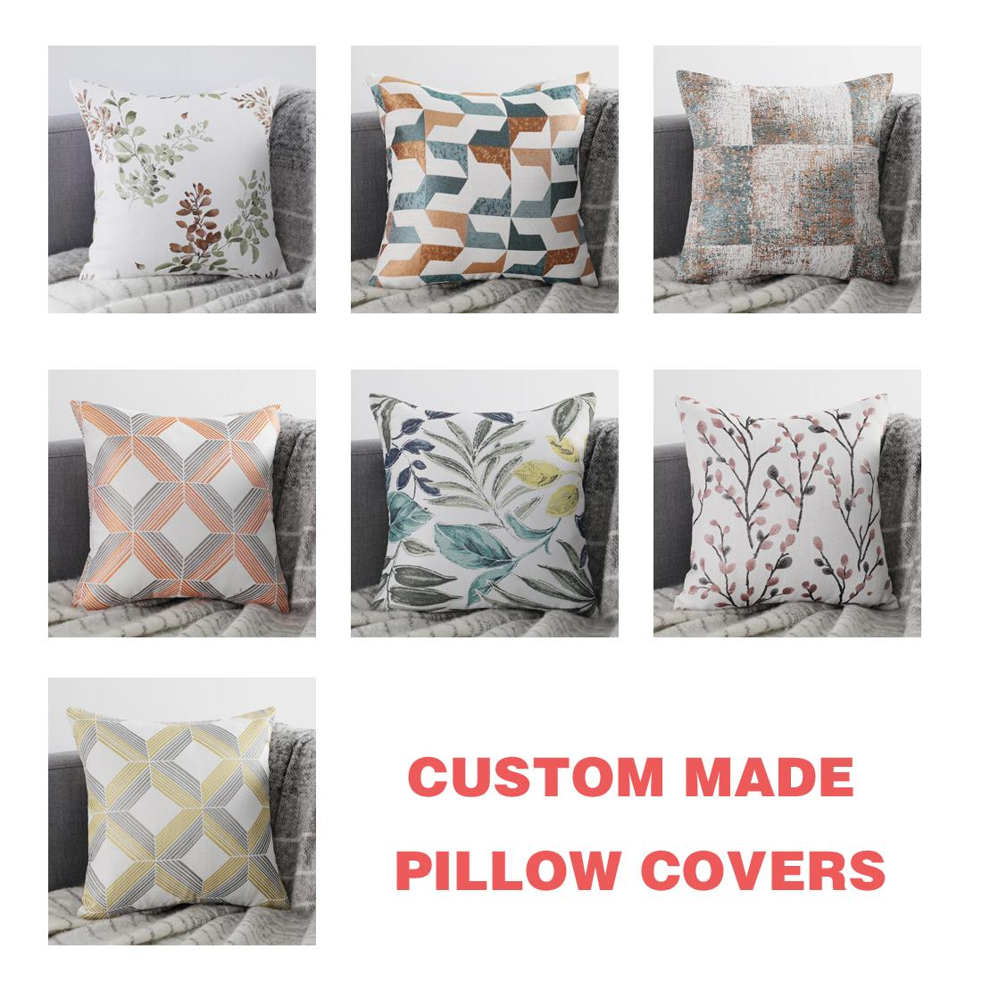 pillow covers yellow cushion cover