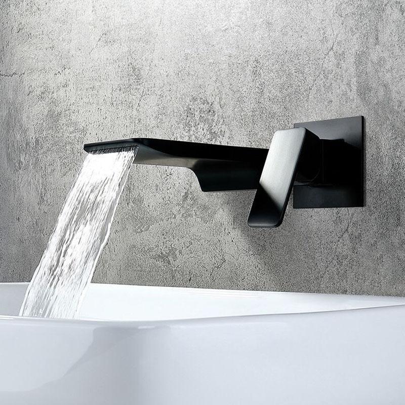 2021 wall mounted bathroom faucet matte