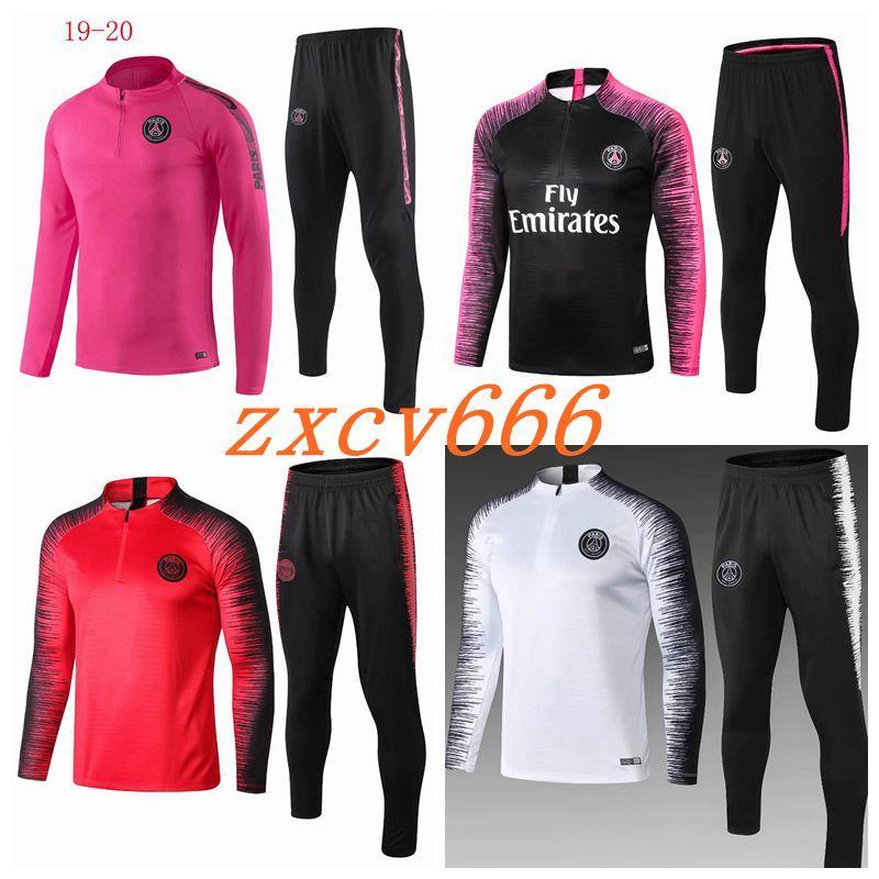 grosshandel new psg trainingsanzug 2019 2020 psg fussball joggingjacke mbappe pogba 18 19 paris fussball trainingsanzug von zxcv666 21 21 auf