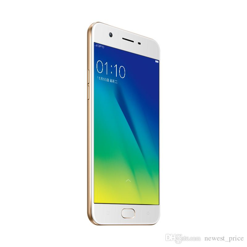 2020 Original Oppo A57 4G LTE Cell Phone Snapdragon 435 Octa Core 3G RAM 32G ROM Android 5.2 FHD 16MP Fingerprint ID 2900mAh Smart Mobile Phone ...