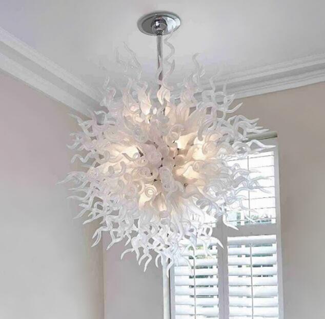 lamps flush mount white blown