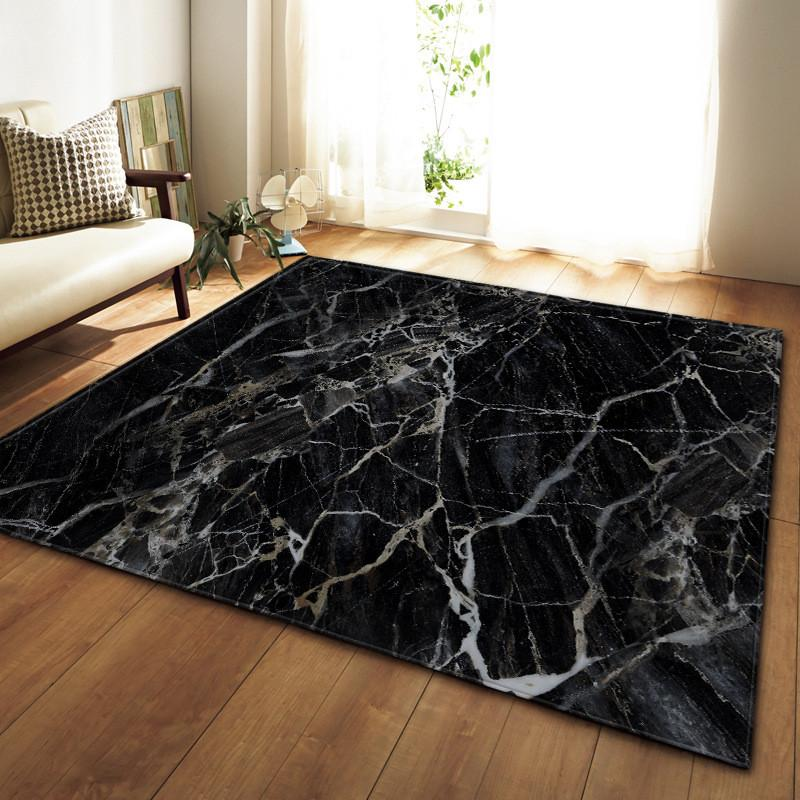acheter imprime en marbre noir blanc chambre cuisine grand tapis pour salon tatami sofa tapis de sol anti derapant tapis salon dywan tapis de 22 49