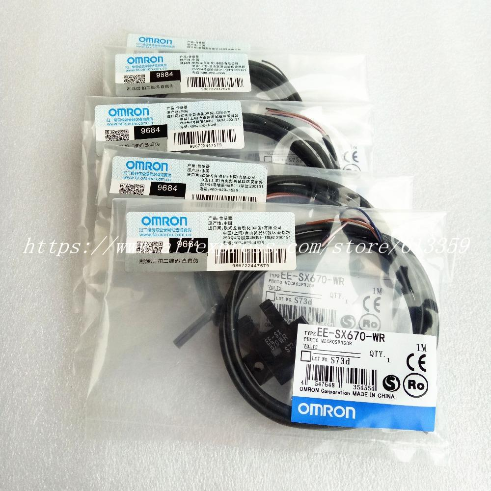 medium resolution of ee sx676 wr ee sx677 wr omron new u type photoelectric sensors 1 meter cable