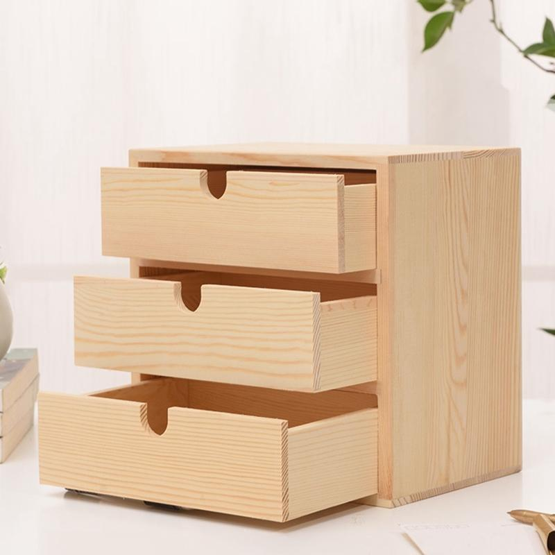 2021 home decoration storage wooden
