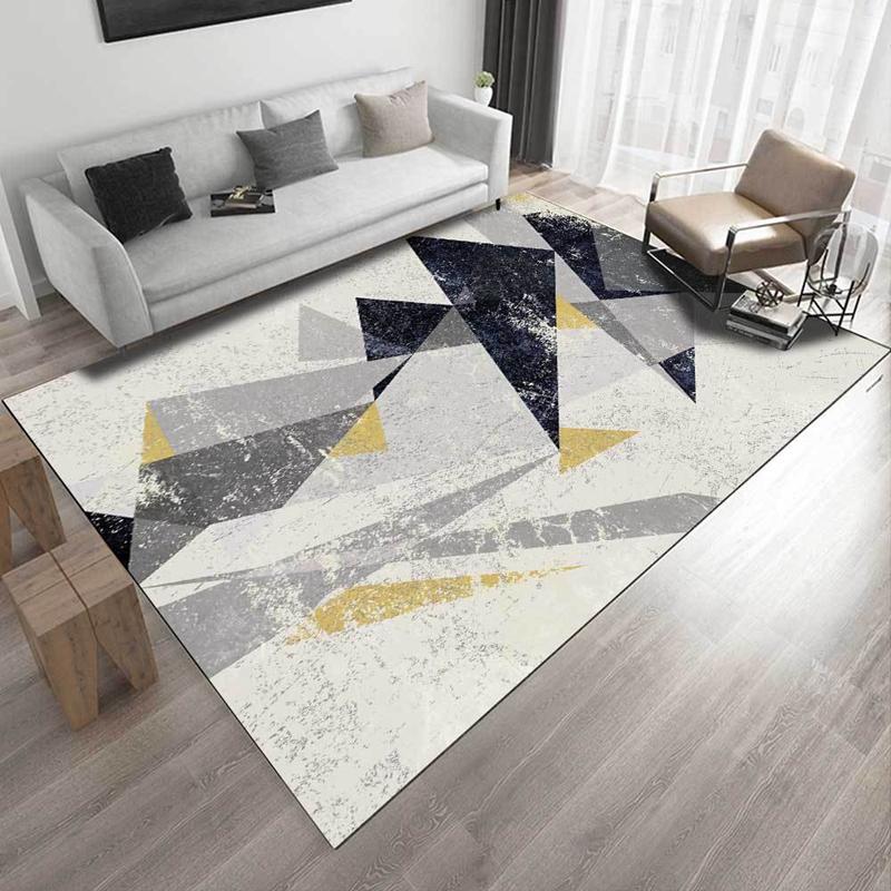 acheter style nordique tapis et tapis salon canape table moderne geometrique tapete enfants chambre non slip salon cuisine tapis de sol de 16 2 du
