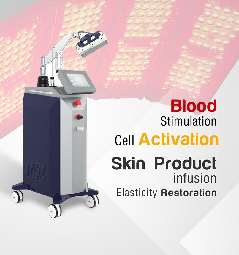 5 Colour LED PDT Facial Dermabrasion Peel With Micro ...