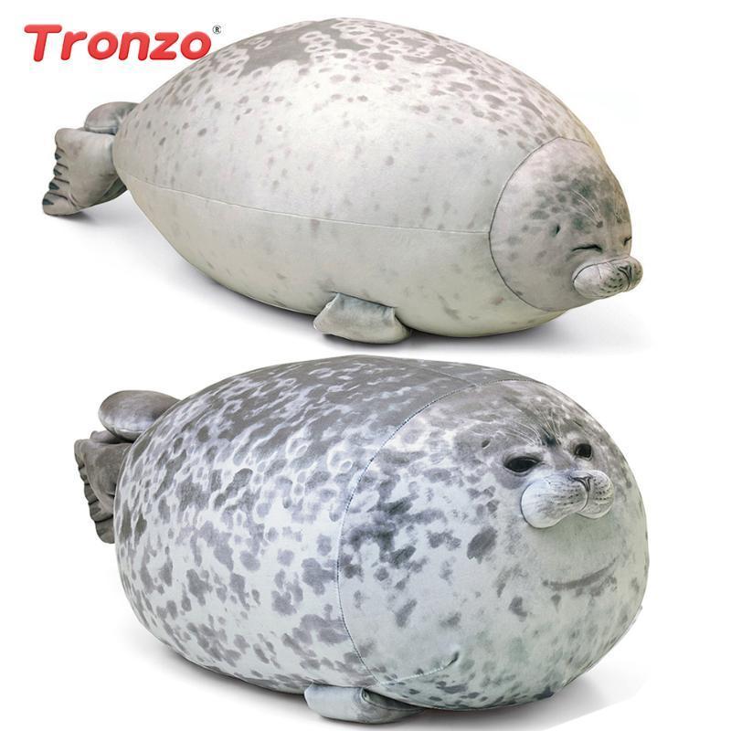 angry seal pillow