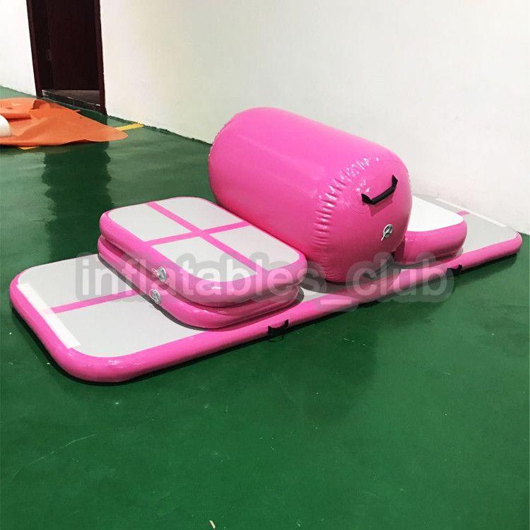 acheter livraison gratuite livraison pompe gonflable air piste tapis dwf gymnastique tapis ensemble pas cher air sol tumbling tapis de 358 38 du