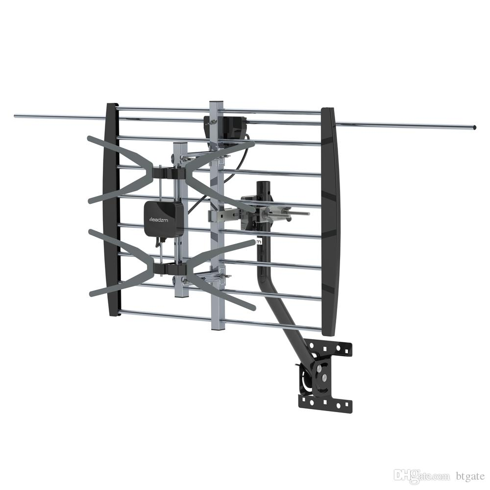 140 Miles Outdoor Antenna Digital Amplified 2 Grids/Wire