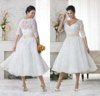 Discount Vintage 2016 Lace Plus Size Wedding Dresses ...