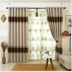 How To Design Curtains For Living Room Decorating Ideas Wall Colours 2019 On Sale European Simple Window Drape Blackout Tulle Embroidered Beaded Hotel From Bigmum 101 4 Dhgate Com