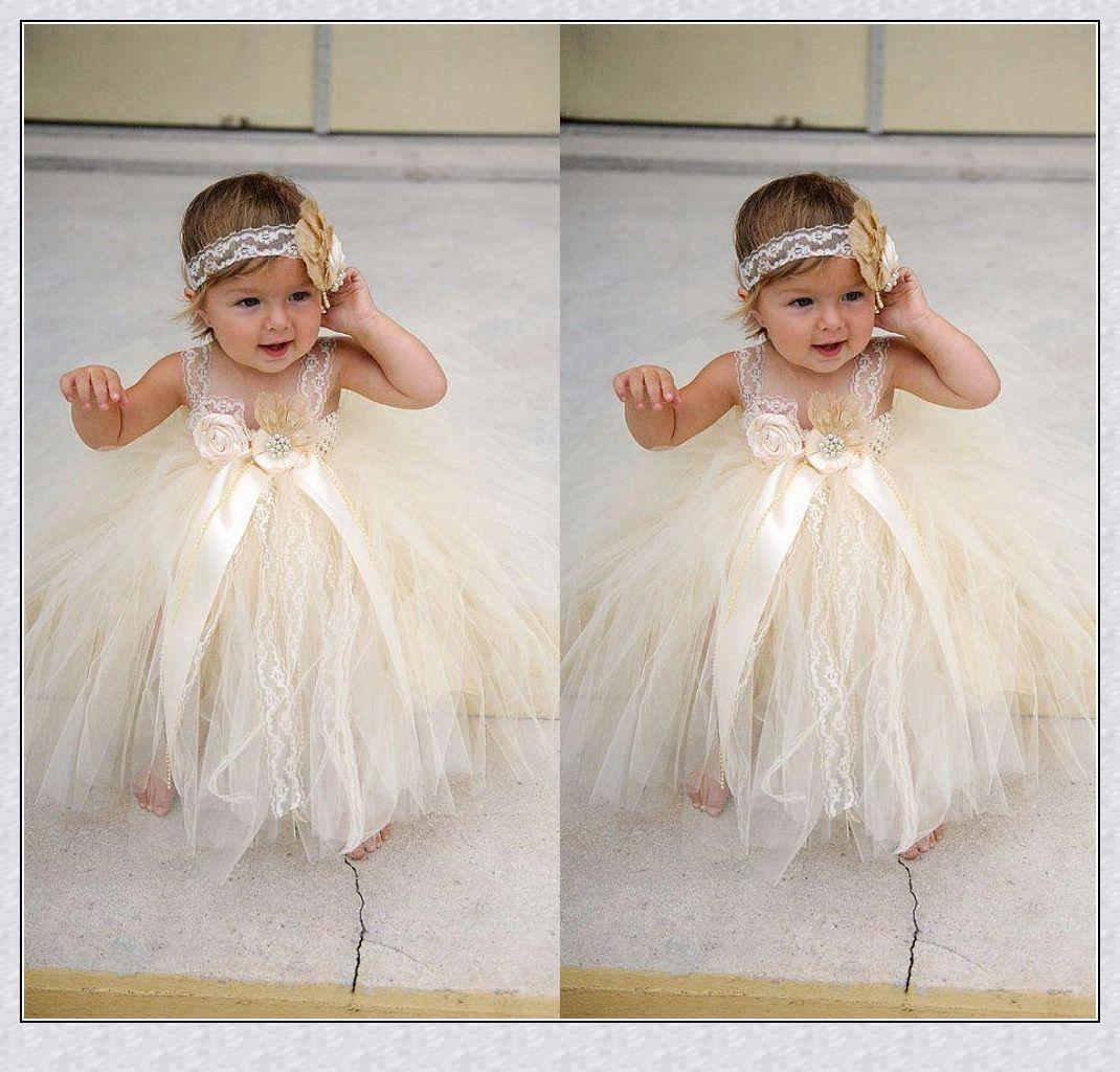 Pretty Flower Girl Dresses Toddler Baby Girl Flower Girl