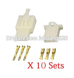 2019 kits 3 pin way dj7031a 2 8 electrical wire connectors plug male and female automobile connector from lvkuang520 3 41 dhgate com [ 1000 x 1000 Pixel ]