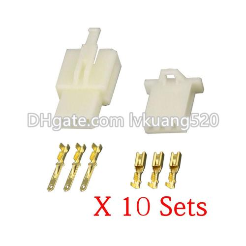 small resolution of 2019 kits 3 pin way dj7031a 2 8 electrical wire connectors plug male and female automobile connector from lvkuang520 3 41 dhgate com