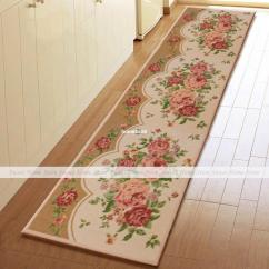 Long Kitchen Rugs How Much Does It Cost To Do A Remodel Yevita Peony Blossom Extra Runner Rug Home Floor Door Mat 235x45cm Acupressure Sensor Egg Online With 47 21 Piece On Home1688 S